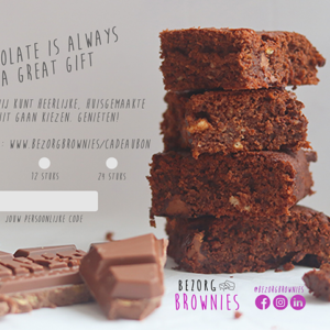 Cadeaubon opties Brownies